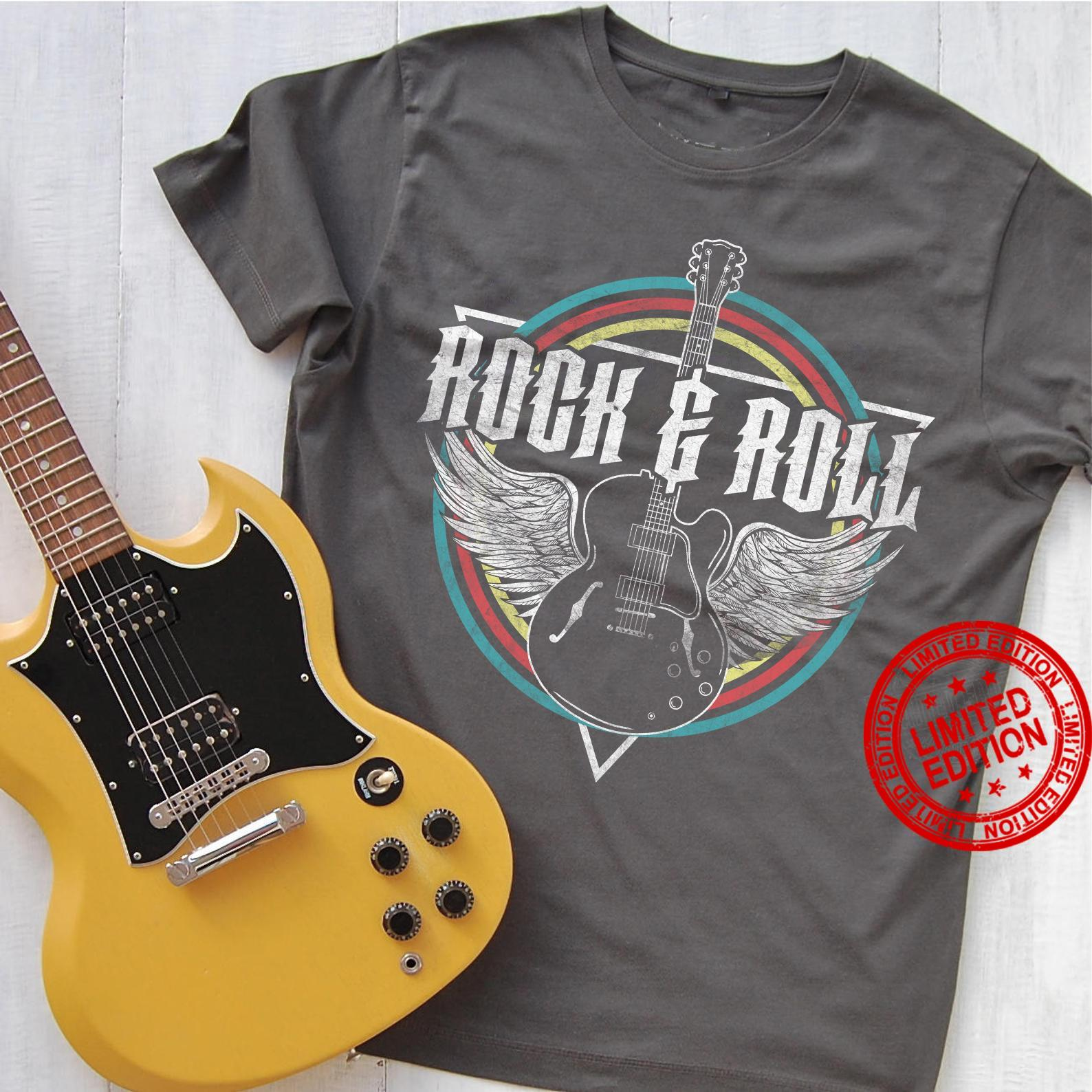 Rock Roll Guitar Shirt