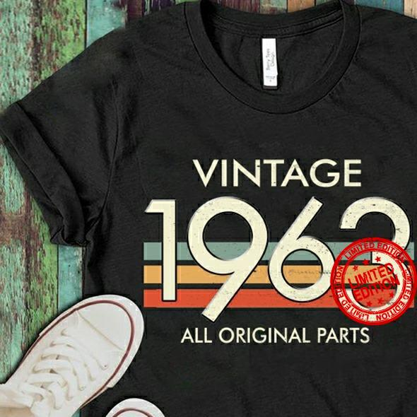 Vintage 1963 All Original Parts Shirt