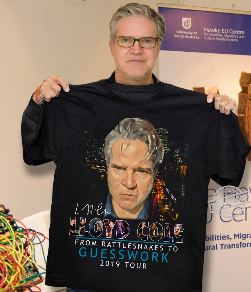 Lloyd Cole From Rattlesnakes To Guesswork 2019 Tour Shirt