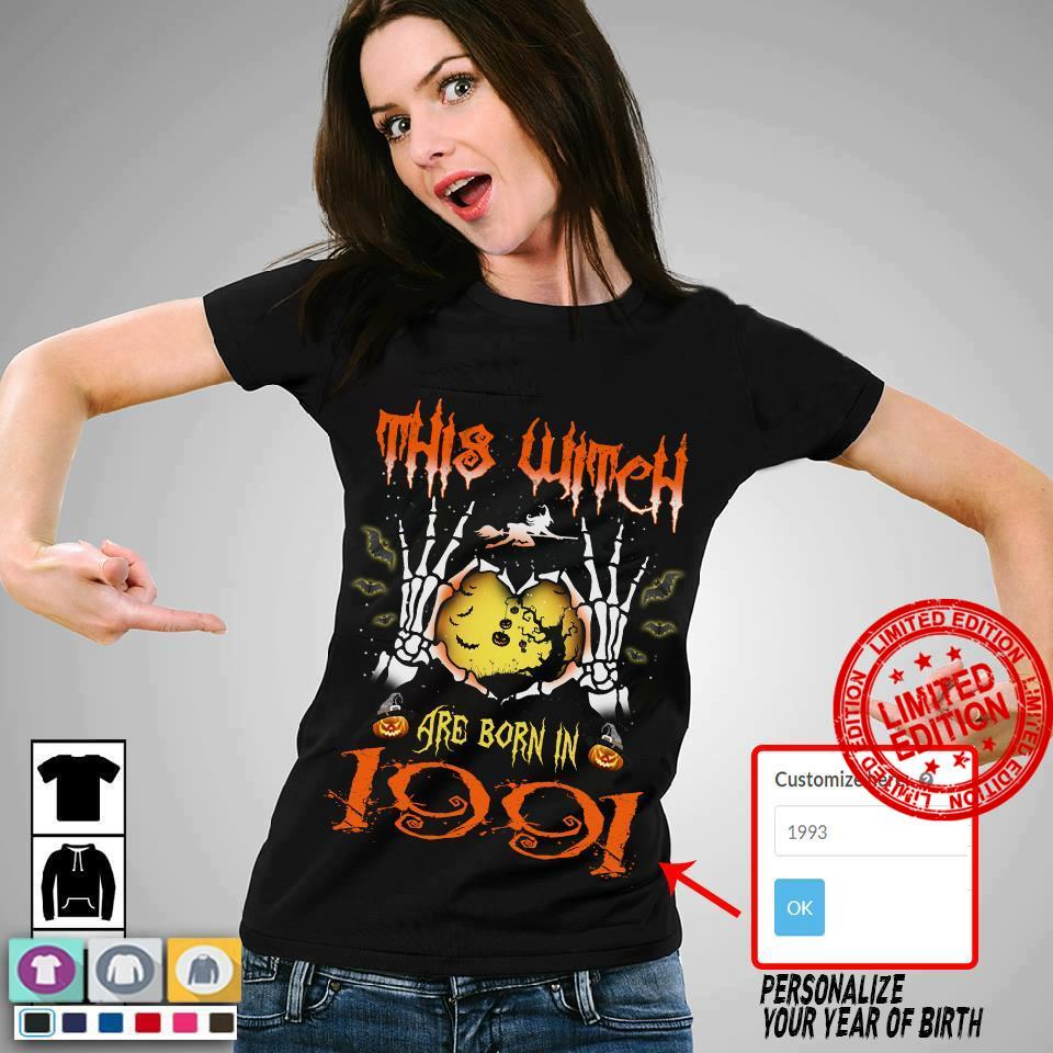 This Witch Are Born In 1991 Shirt